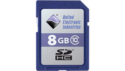 8 GB SD card
