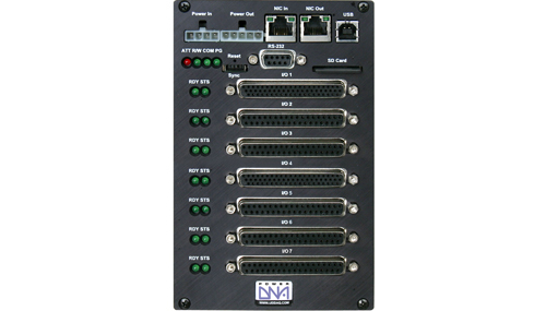 Real-Time, programmable automation controller (PAC) with 7 I/O slots