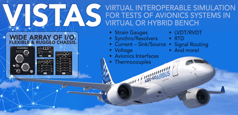 VISTAS Avionics Virtual Test Bench